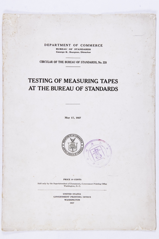 TAPES AT THE BUREAU OF STANDARDS,共17張圖片